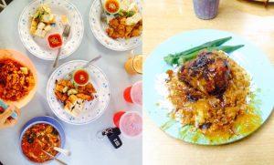 Kiri: Tokua Rendang & Pasembur Kanan: Nasi Kandar Kg Melayu